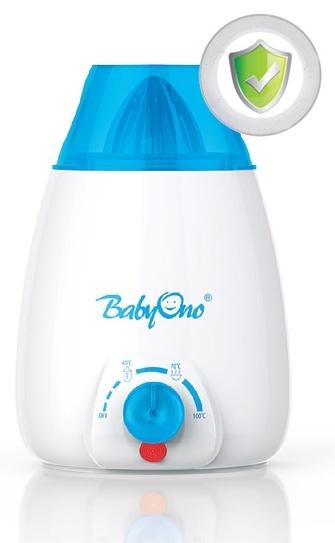 Elektrický ohřívač + odšťavňovač ovoce Baby Ono (Ohřívač na všechny typy láhví + odšťavňovač kat. 217,BO)
