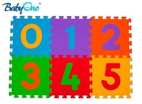 BabyOno Pěnové puzzle - Čísla - 6ks