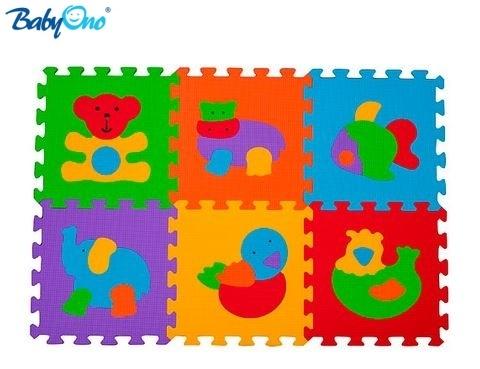 Pěnové puzzle Baby Ono - Zvířátka - 6 ks