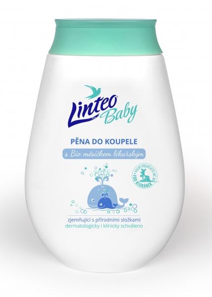 Pěna do koupele s BIO měsíčkem lékařským LINTEO BABY