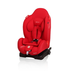 Autosedačka Strada Pro Isofix 2016, 9-25kg - Červená/red