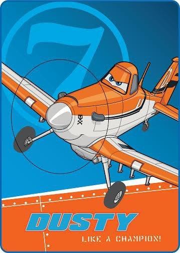 Licenční dečka velká - Planes