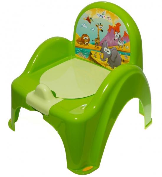 Nočník/židlička Safari - zelená