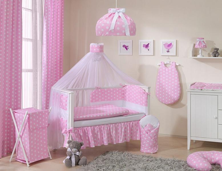 Mamo Tato Lustr do dětského pokojíčku - Bubble retro - růžové