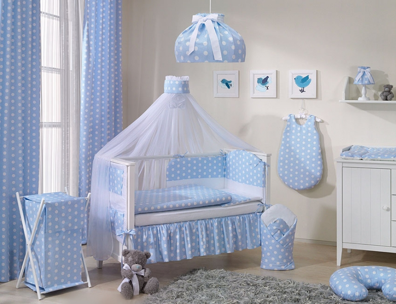 Mamo Tato Lustr do dětského pokojíčku - Bubble retro - modré