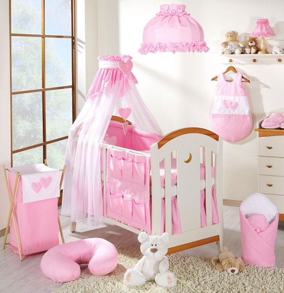 Lustr do dětského pokojíčku - Srdíčko růžové