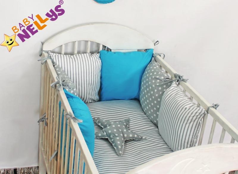 Baby Nellys Mantinel Be Love Lux 135x100cm, polštářkový s povlečením vzor č. 5