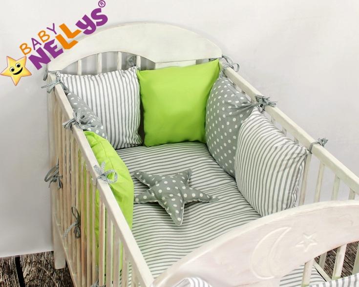 Baby Nellys Mantinel Be Love Lux 135x100cm, polštářkový s povlečením vzor č. 6