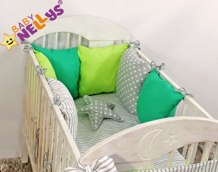 Baby Nellys Mantinel Be Love Lux polštářkový s povlečením vzor č. 7