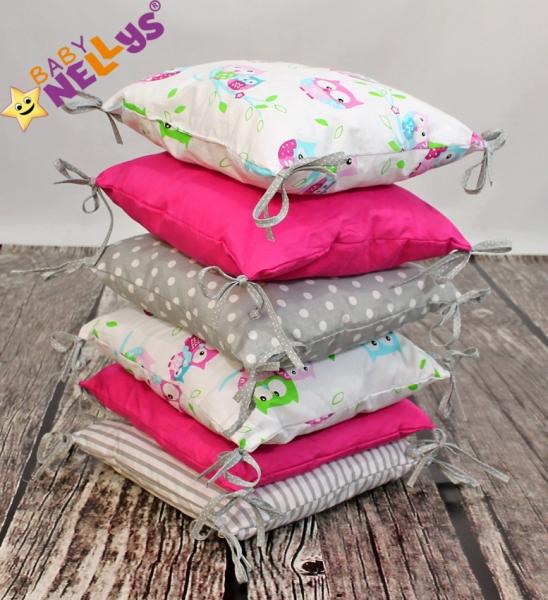 Baby Nellys Mantinel Be Love Lux polštářkový s povlečením vzor č. 8