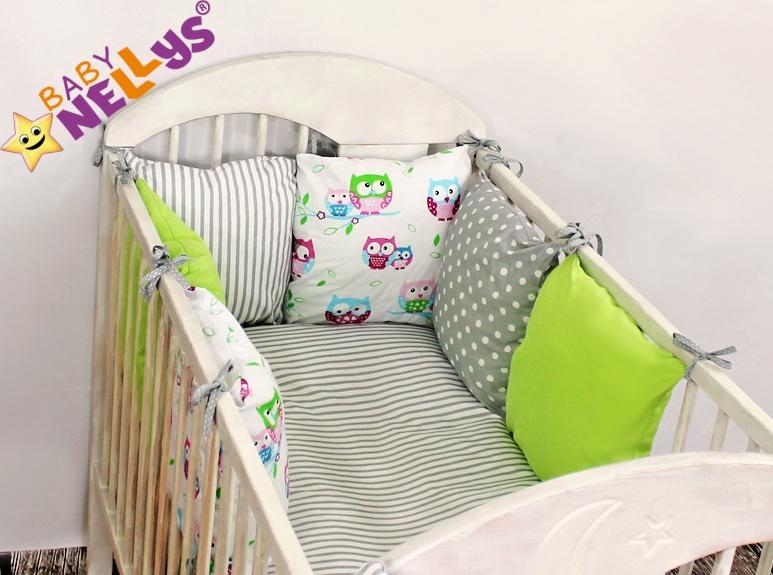 Baby Nellys Mantinel Be Love Lux 135x100cm, polštářkový s povlečením vzor č. 10