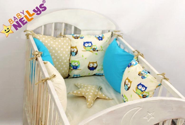 Baby Nellys Mantinel Be Love Lux polštářkový s povlečením vzor č. 11