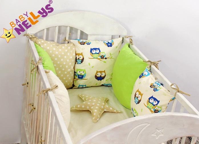 Baby Nellys Mantinel Be Love Lux 135x100cm, polštářkový s povlečením vzor č. 12