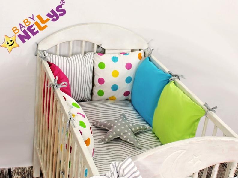 Baby Nellys Mantinel Be Love Lux 135x100cm, polštářkový s povlečením vzor č. 13