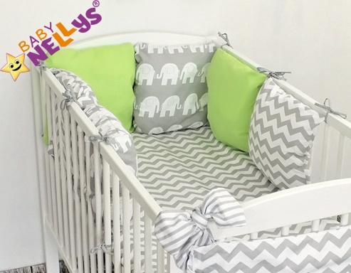 Baby Nellys Mantinel Be Love Lux polštářkový s povlečením vzor č. 15