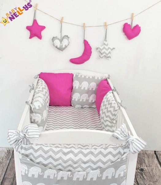 Baby Nellys Mantinel Be Love Lux polštářkový s povlečením vzor č. 16