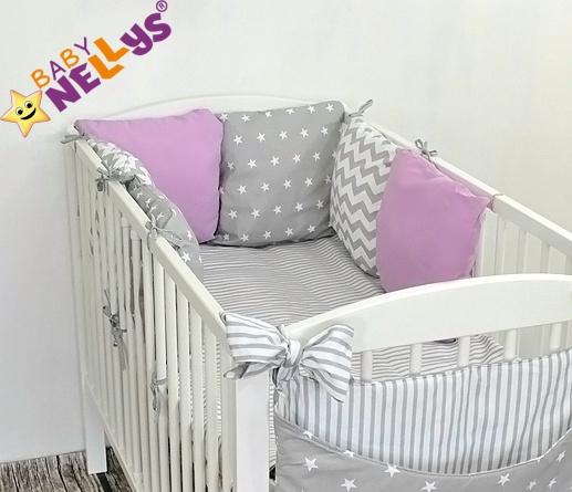 Baby Nellys Mantinel Be Love Lux polštářkový s povlečením vzor č. 28