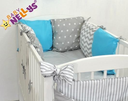 Baby Nellys Mantinel Be Love Lux polštářkový s povlečením vzor č. 21