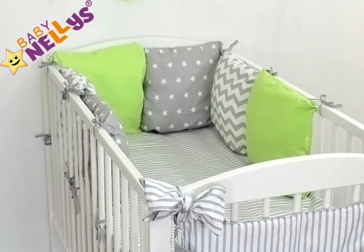 Baby Nellys Mantinel Be Love Lux polštářkový s povlečením vzor č. 22