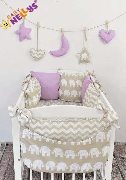 Baby Nellys Mantinel Be Love Lux polštářkový s povlečením vzor č. 24