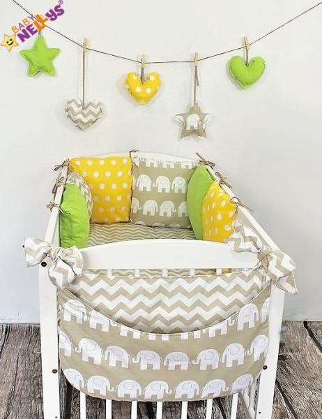 Baby Nellys Mantinel Be Love Lux polštářkový s povlečením vzor č. 25