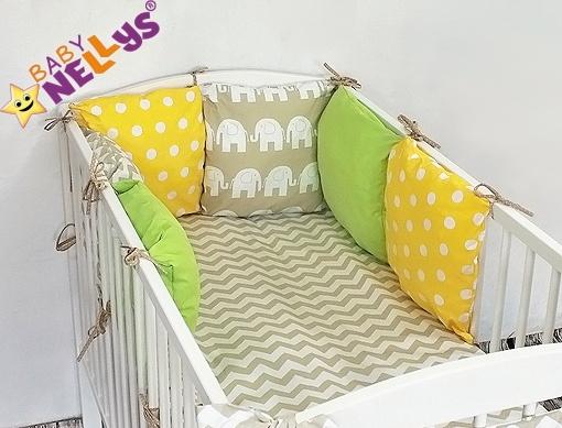 Baby Nellys Mantinel Be Love Lux 135x100cm, polštářkový s povlečením vzor č. 25