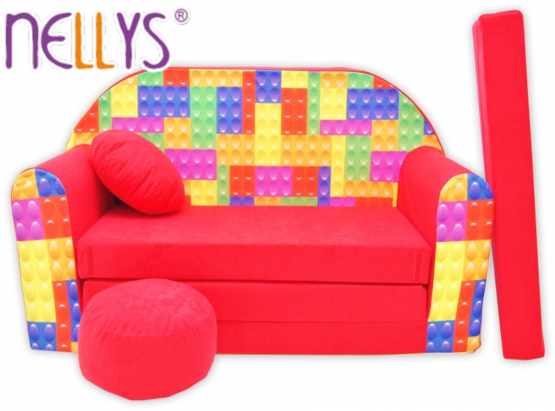 Rozkládací dětská pohovka Nellys ® 66R