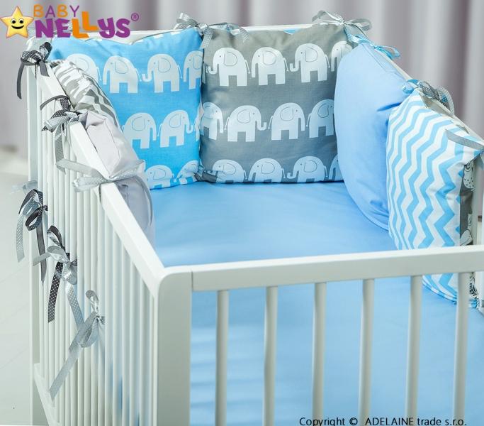 Mantinel BE LOVE Baby Nellys ® - polštářkový s povlečením vzor č. 1026
