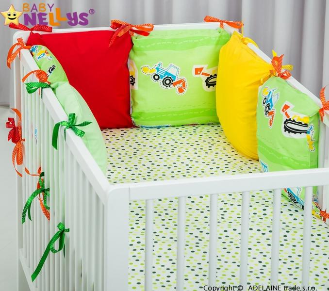 Mantinel BE LOVE Baby Nellys ® - polštářkový s povlečením vzor č. 1014