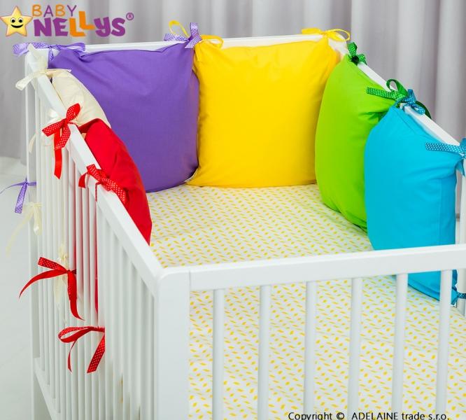 Mantinel BE LOVE Baby Nellys ® - polštářkový s povlečením vzor č. 1001