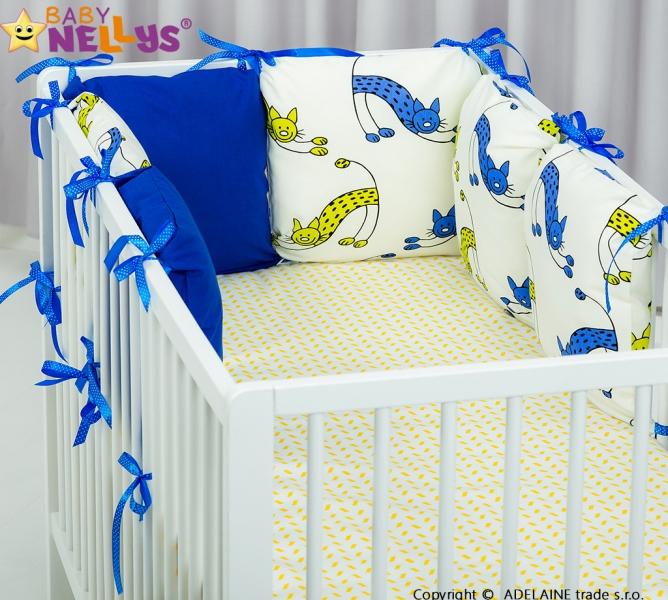 Mantinel BE LOVE Baby Nellys ® - polštářkový s povlečením vzor č. 1023