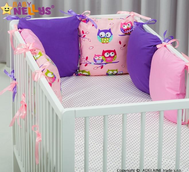 Mantinel BE LOVE Baby Nellys ® - polštářkový s povlečením vzor č. 1038