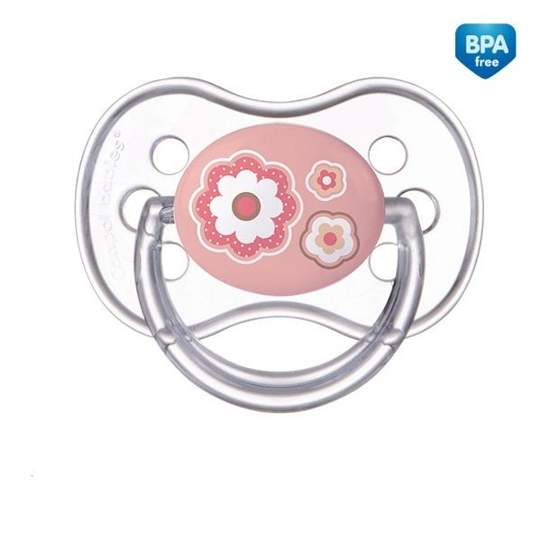 Dudlík Kulatý Canpol Babies 0-6m - Newborn Květinka