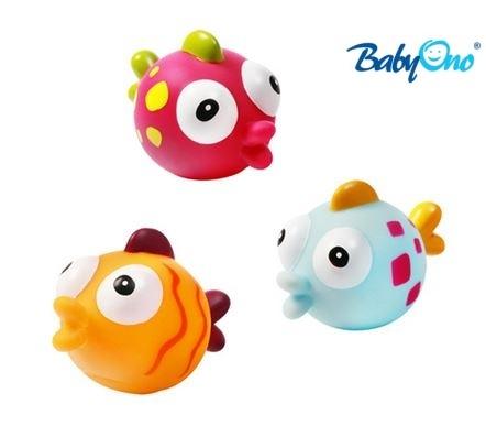 Baby Ono Veselé hračky do vody RYBKY - 3m+