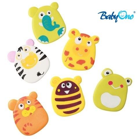 Baby Ono Veselé hračky do vody - přísavky - sada KLUK - nr. kat. 533, KLUK, 6ks v balení, od 36-ti měsíců, BO