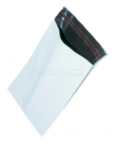 Plastová obálka - 35 x 45 +5 cm - BÍLÁ - balení 100ks, Rozměr 35 x 45 +5 cm - BÍLÁ KF 05