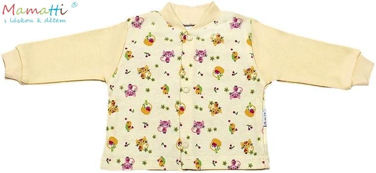 Bavlněná košilka Mamatti - Kočička