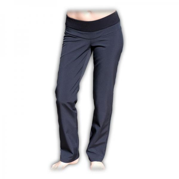 Sportovní oteplené kalhoty nejen pro těhotné - softshellové (vel. 36)
