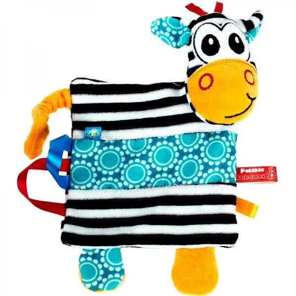 Hencz Toys Edukační mazlík Zebra