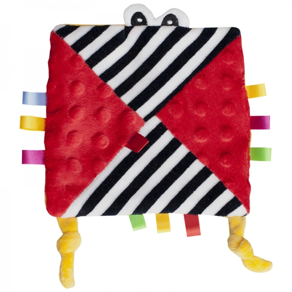 Hencz Toys Mazlík šuštik s očičkama - červený