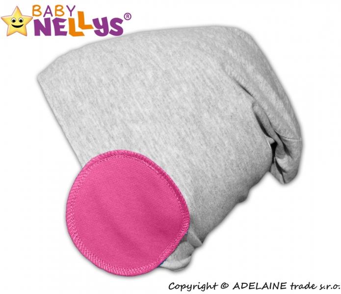 Bavlněná čepice Bubble - růžová, Velikost: 48/52 čepičky obvod