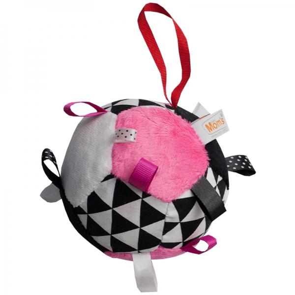 Hencz Toys Plyšový barevný balónek - růžová