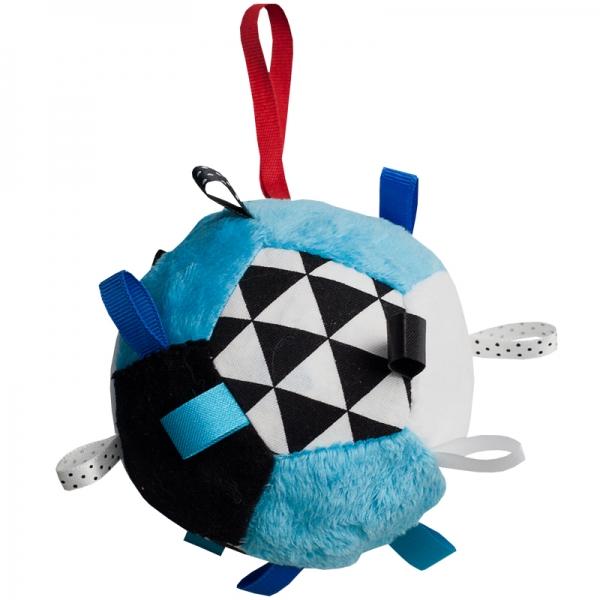 Hencz Toys Plyšový barevný balónek - modrý