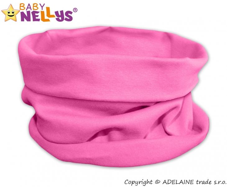 Nákrčník/komínek Baby Nellys ® - růžový