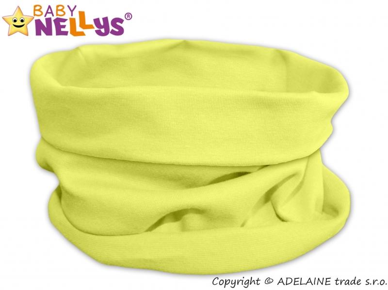 Nákrčník/komínek Baby Nellys ® - lemon