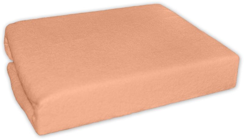 Bavlněné prostěradlo 120x60cm - Losos