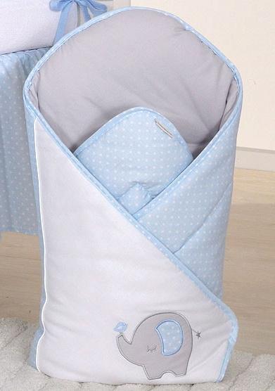 Zavinovačka LUX s vyztuženými zády - SLON - modrý