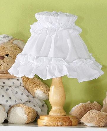 Noční lampička - Srdičko bílé