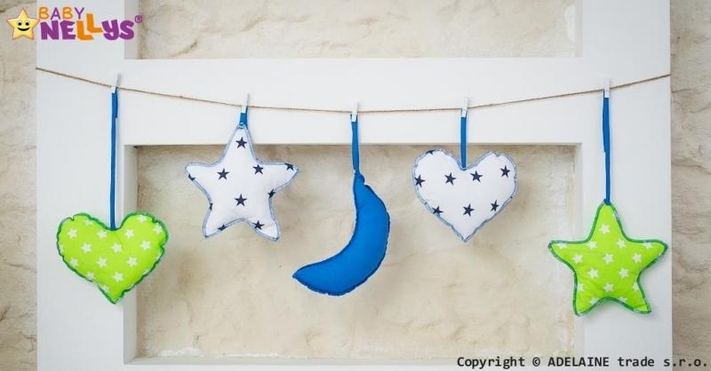Baby Nellys Sada dekorací Stars be Love č. 2