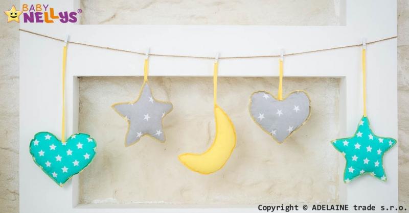 Baby Nellys Sada dekorací Stars be Love č. 6